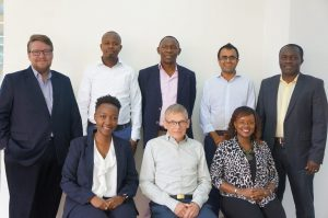 GrowthAfrica's supervisory board. Inaugural board meeting group photo