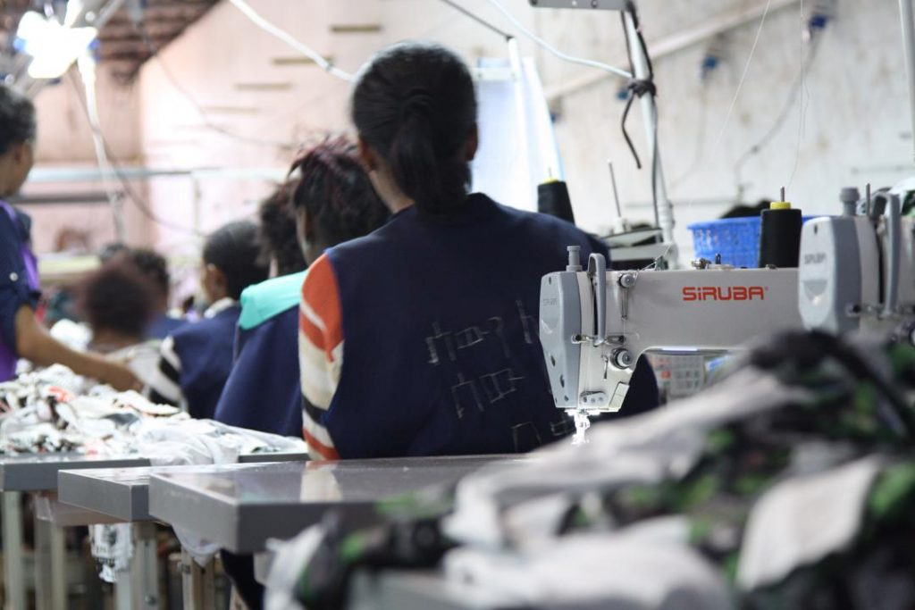 Gaber Garment workshop