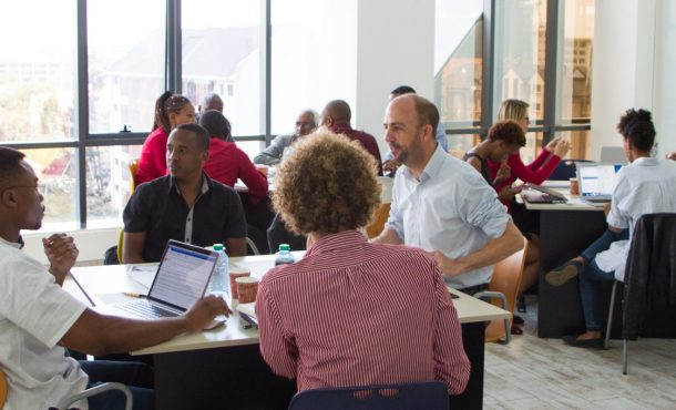 The fourth Angel Fair Africa training for entrepreneurs held at GrowthAfrica on November 8, 2016.